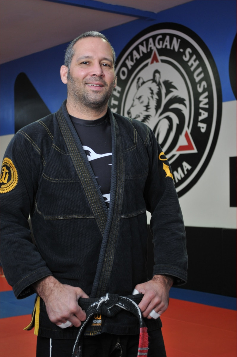 Mario Deveault founder of NOS Brazilian Jiu Jitsu in Vernon BC
